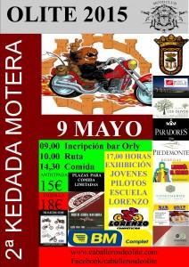 cartel KEDADAA3 - 2mayo