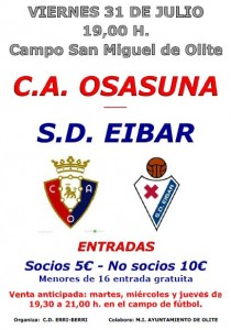 OSASUNA - EIBAR