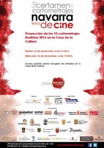 Certamen cortometrajes Navarra cartel Olite