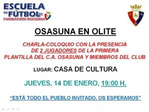 Charla-coloquio Osasuna en Olite