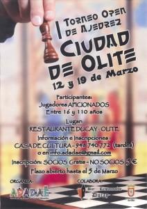 I TORNEO DE AJEDREZ CIUDAD DE OLITE