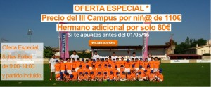 III Edición del Campus Fútbol Merindad de Olite