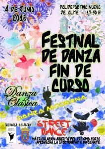 Cartel Festival Danza