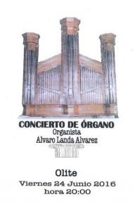 CONCIERTO DE ORGANO ALVARO LANDA