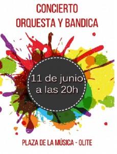 CONCIERTO ORQUESTA Y BANDICA