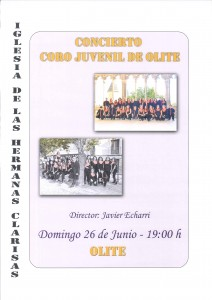 Concierto coro juvenil
