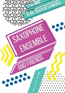 Saxophone ensemble and friends
