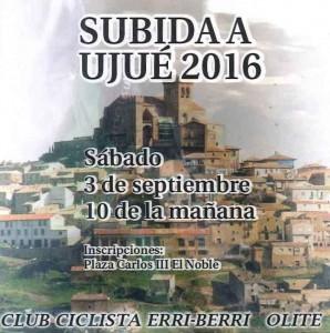 SUBIDA A UJUE 2016