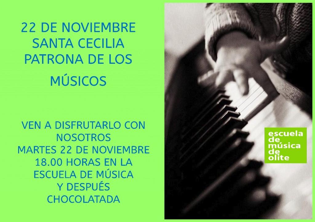 Santa Cecilia en Olite-Erriberri 22 Noviembre