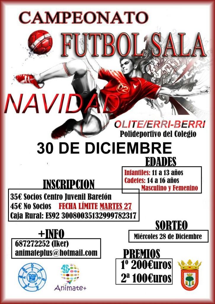 Campeonato futbol sala