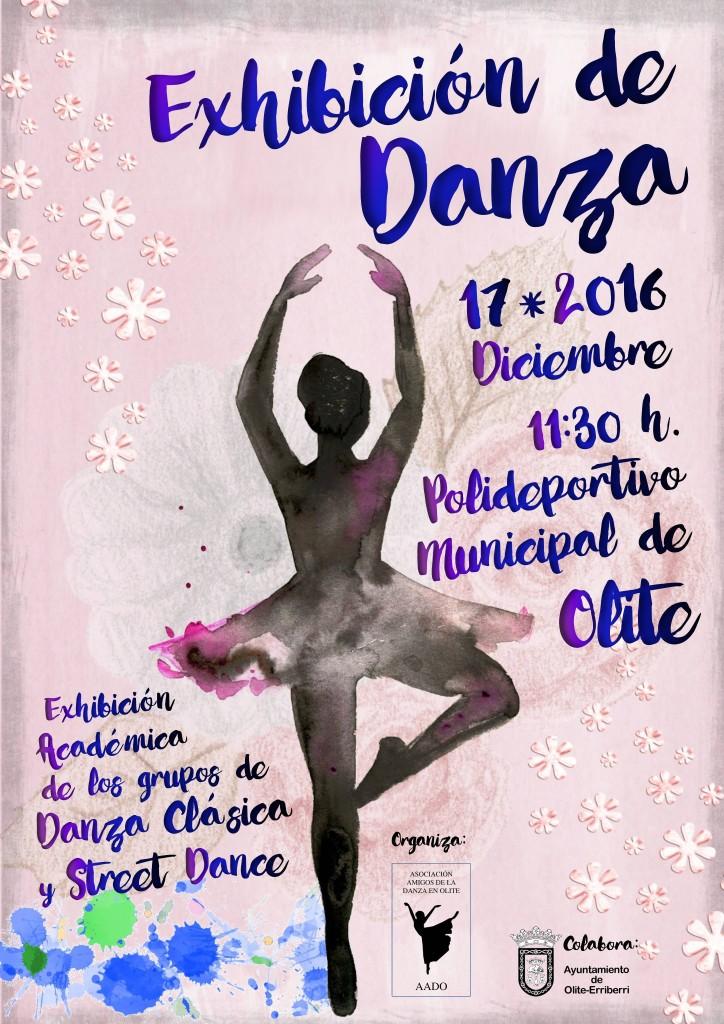 Cartel Exhibicion Danza 2016