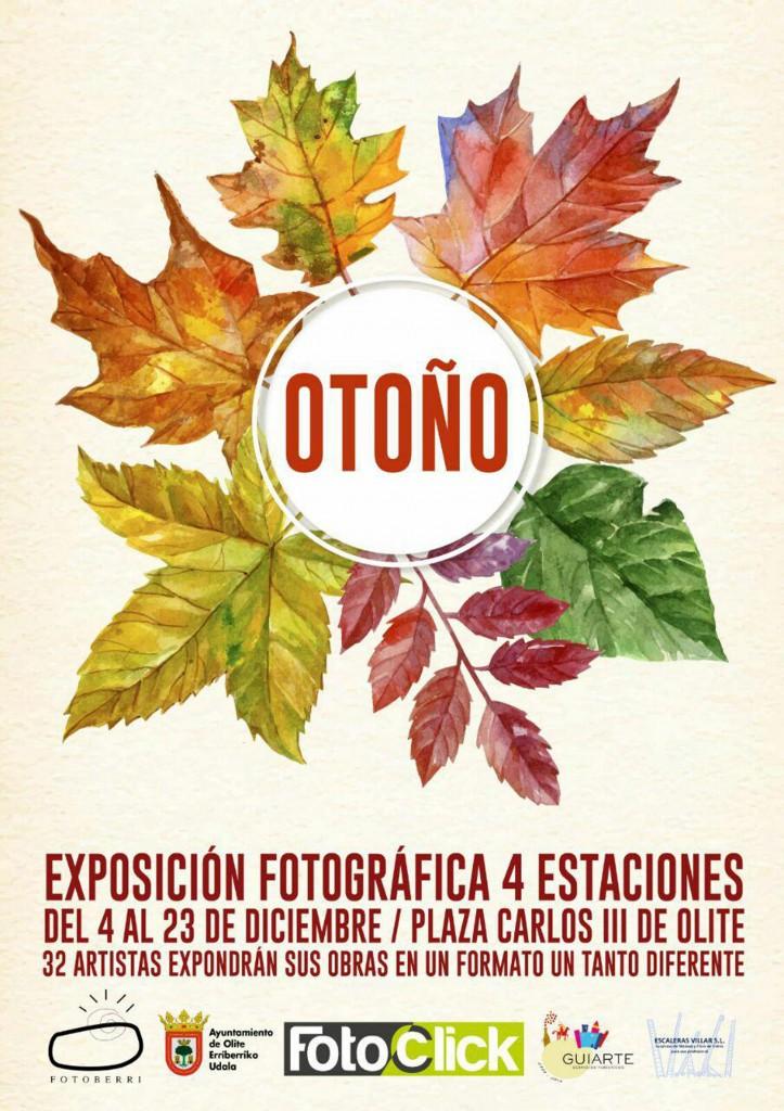 Cartel exposicion 4 estaciones
