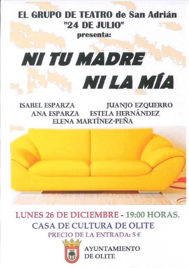 Teatro lunes 25 de diciembre