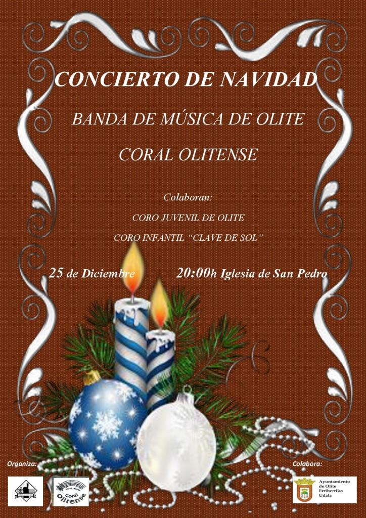 cartel Navidad banda domingo 25dic