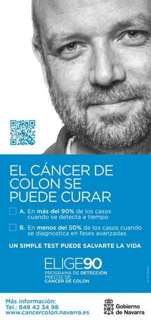 Cartel Programa prevencion cancer de colon