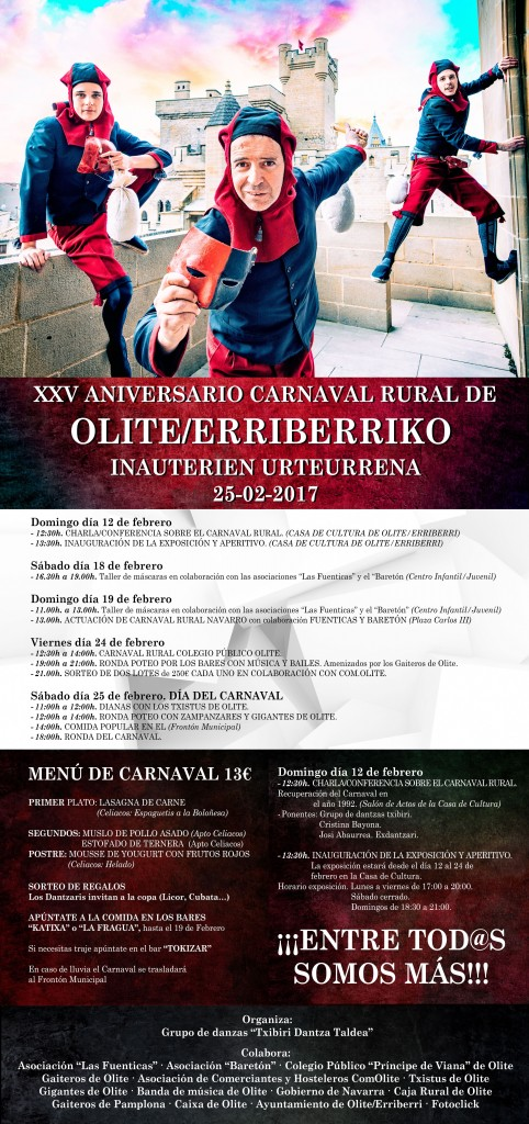 Cartel Carnaval Rural