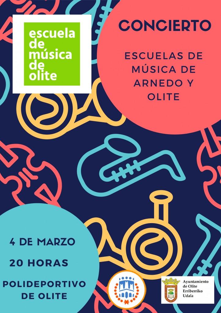 Concierto musica Arnedo 4 de marzo