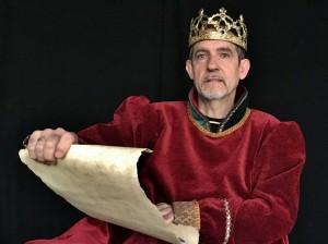 El actor Luis Izuriaga, como Carlos III