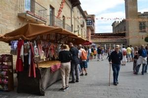 Foto mercado medieval