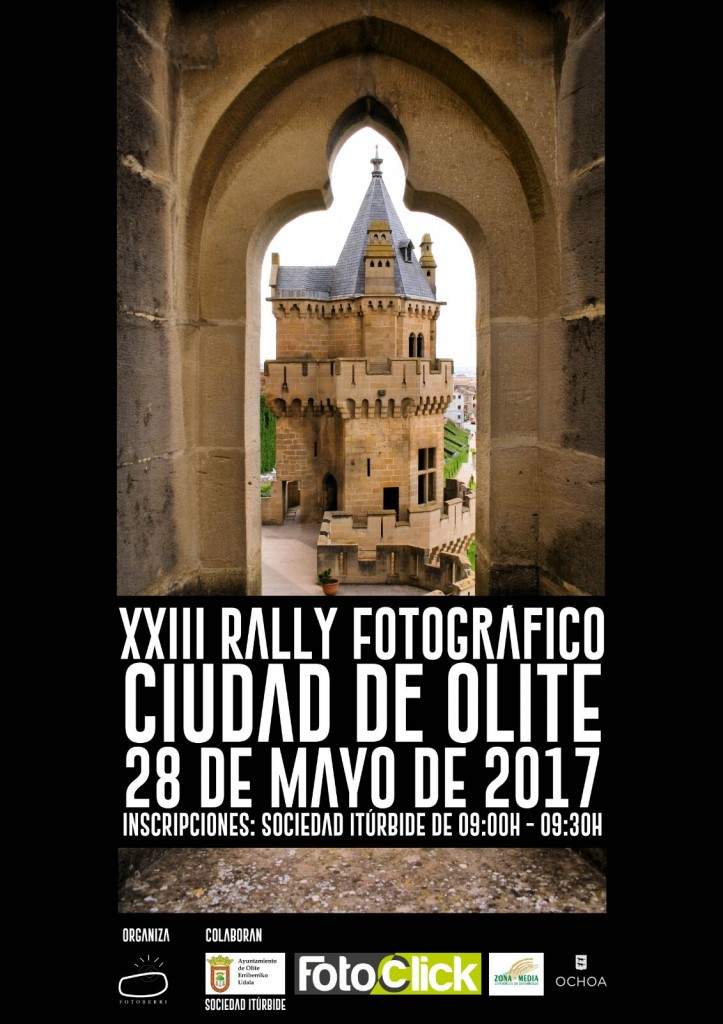 Cartel XXIII Rally Fotográfico de Olite