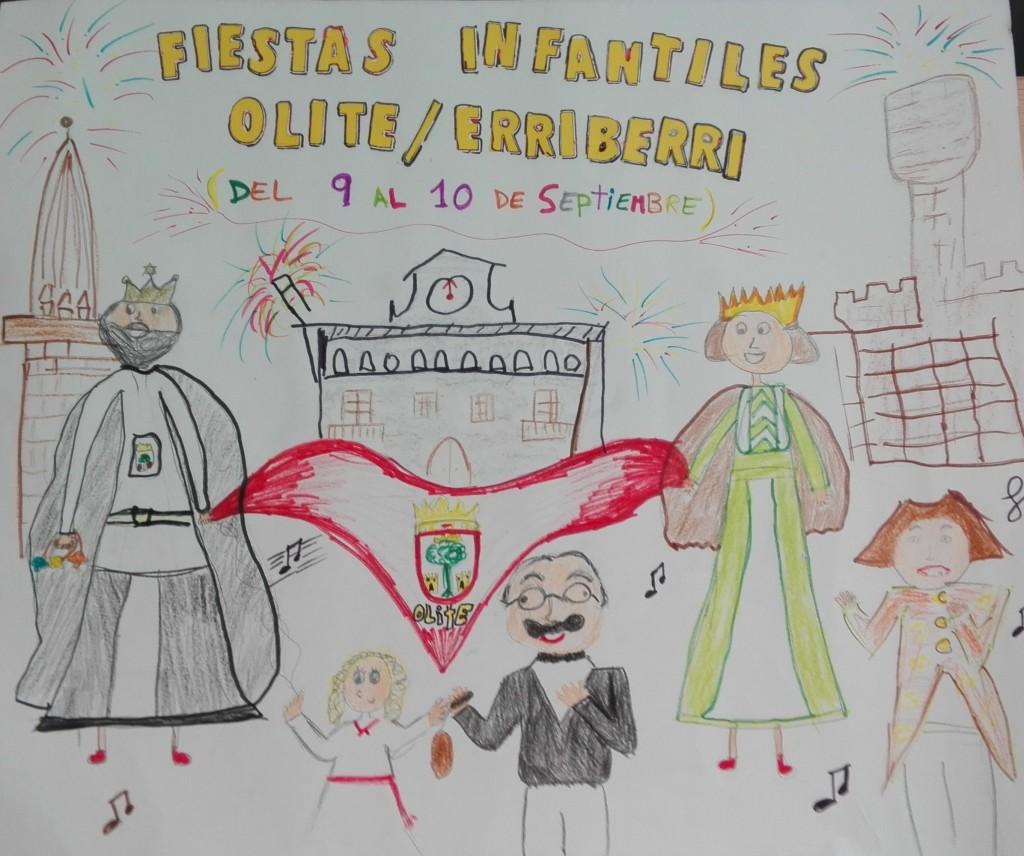 Cartel Fiestas Infantiles 2017