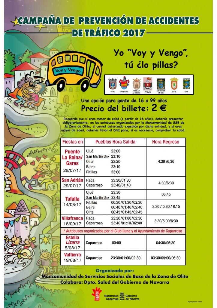 Cartel Voy y Vengo