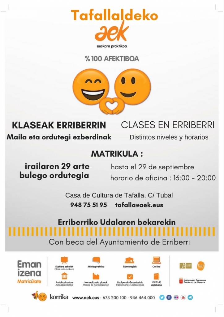 Clases de euskera