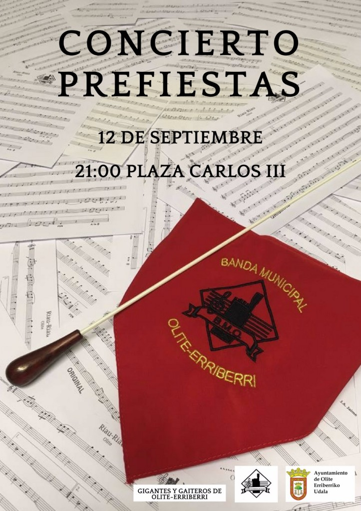 Concierto prefiestas Banda