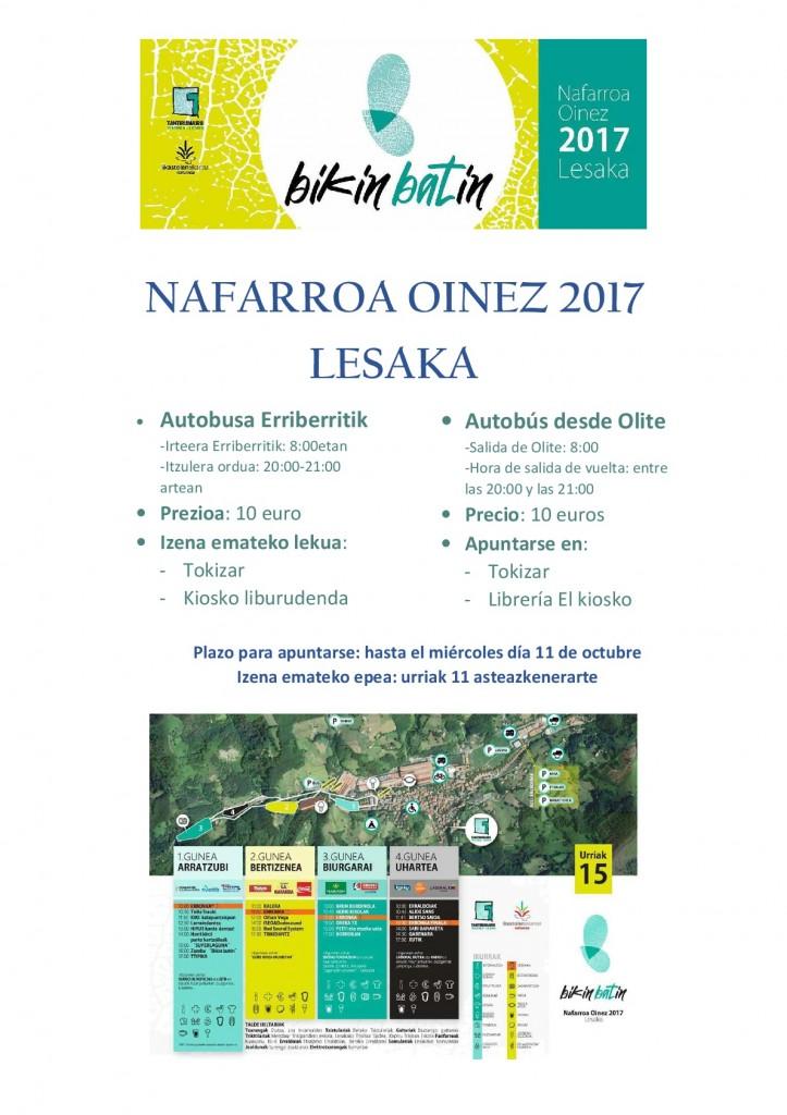 Bus Nafarroa Oinez Olite-Erriberri 2017