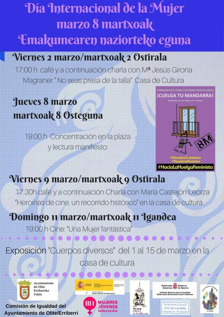 8 DE MARZO DÍA INTERNACIONAL DE LA MUJERMARTXOAK 8 EMAKUMEAREN NAZIOARTEKO EGUNA1