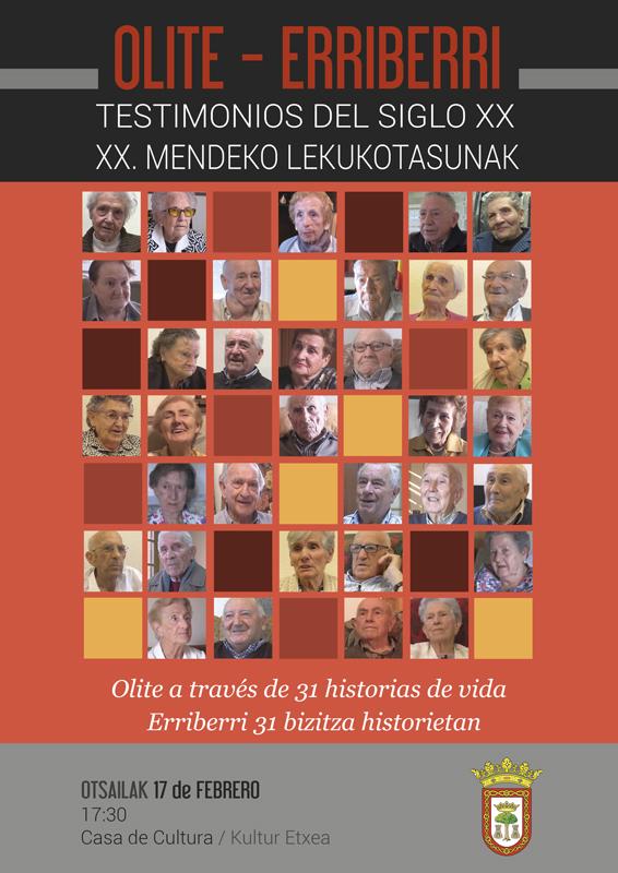 Testimonios del sigo XX
