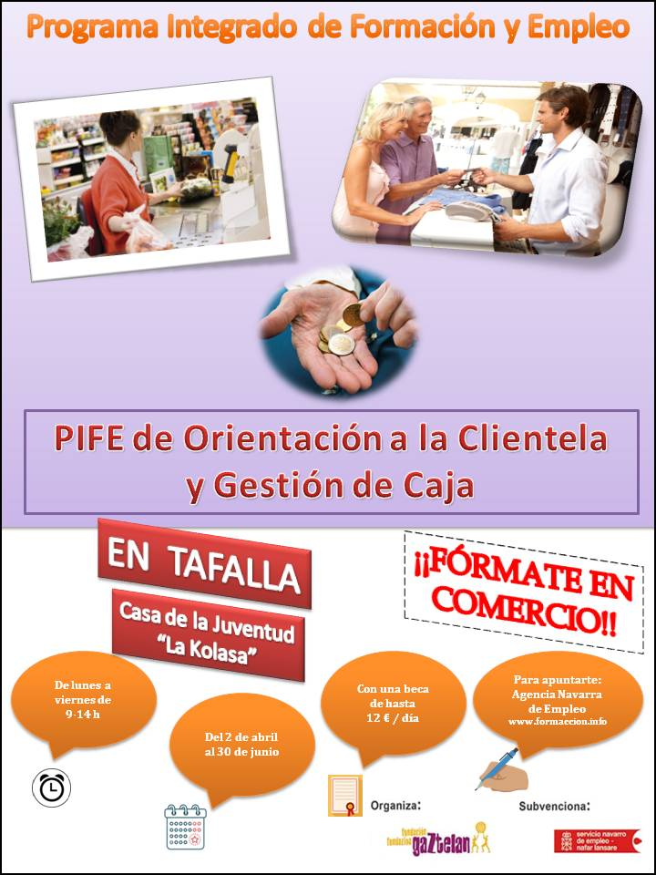 Cartel Informativo PIFE Tafalla