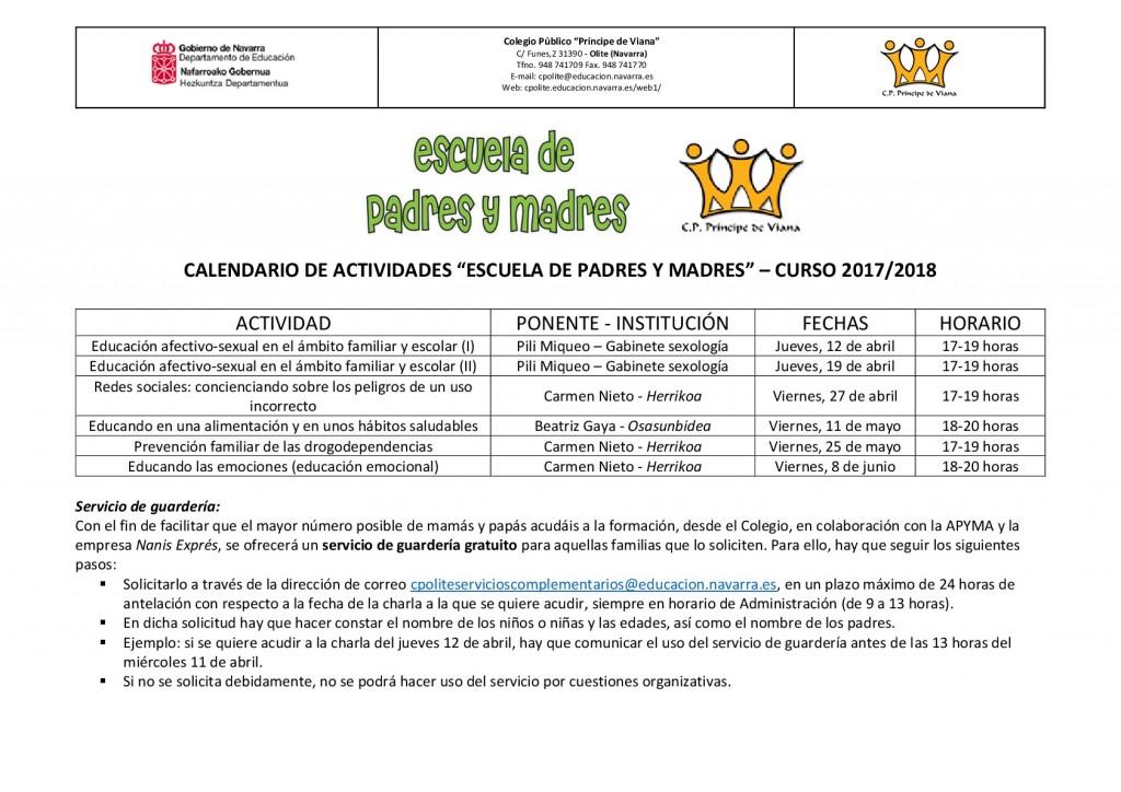 Calendario actividades escuela de padres y madres 17-18-001