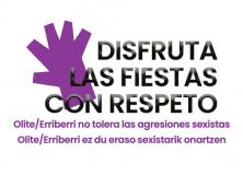 Olite-Erriberri contra las agresiones sexistas en fiestas