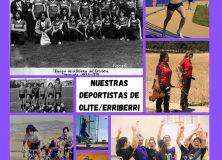 Inauguración de Exposición Fotográfica de nuestras atletas de Olite-Erriberri